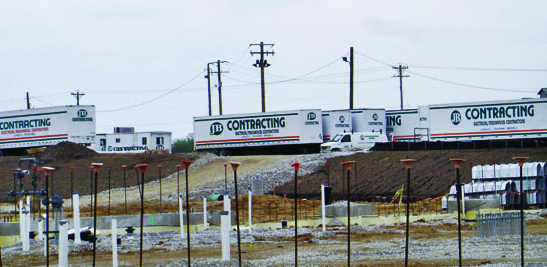jb contracting trailers